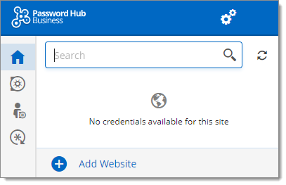Devolutions Web Login Connected to Password Hub